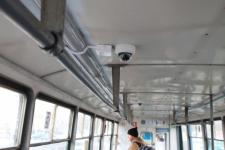 Павлодарский трамвай под видеонаблюдением