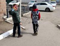 """""""Беги или умри"""": на опасные игры детей на дороге пожаловалась павлодарка"""