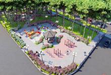 В городском отделе ЖКХ показали, как будет выглядеть новый сквер