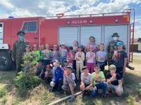 С заботой о природе: лесники устроили праздник для школьников из села Павлодарского