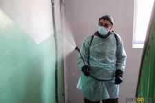 Павлодарские КСК приступили к санобработке подъездов в связи с профилактикой коронавируса