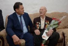 В преддверии 74-й годовщины Победы аким Павлодарской области лично поздравил всех ветеранов, живущих в регионе