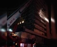 Павлодарские пожарныеучились тушить гостиницу