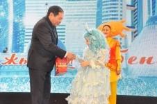 150 детей посетили новогодний праздник акима Павлодара