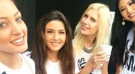 """Селфи """"Мисс Ливан"""" с """"Мисс Израиль"""" вызвало скандал"""