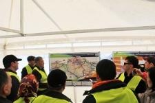Депутаты Мажилиса увидели, как проходит строительство дороги Астана-Павлодар-Калбатау