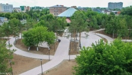 Парк влюбленных собираются открыть в Павлодаре ко Дню города