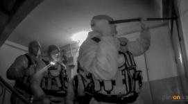 Пожилая пара во время пожара вызвала на помощь сотрудников охранного агентства