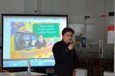 Киножурнал «Бум-Бала» презентовали в центре обслуживания молодежи