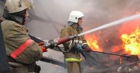 В Аксу на пожаре погибли два человека