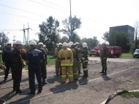 На электростанции в  Аксу ликвидировали пожар