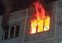 В Павлодаре спасли пять человек при пожаре в жилом доме