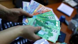 Реальная зарплата 75% казахстанцев не дотянула до средней по республике