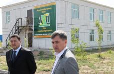 В Павлодаре запустили новое химическое производство