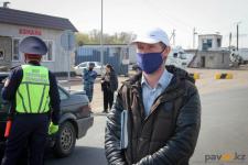 В Павлодаре добровольцы из числа музыкантов работают на блокпостах