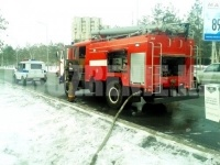 В центре Павлодара горели мусор и матрасы