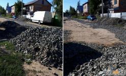 Из-за монополиста жители одной из улиц Лесозавода не могут дождаться ни воды, ни асфальтирования
