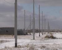 Поселок ИЖС-1 в пригороде Павлодара до конца года будет со светом