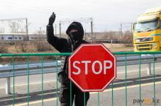 На блокпостах в Павлодарской области среди въезжающих больных коронавирусом не выявлено