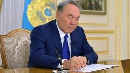Нурсултан Назарбаев подписал новые законы