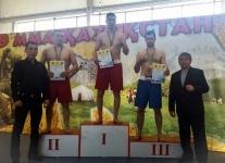 Павлодарский полицейский стал чемпионом в боевом единоборстве  «Nomad  ММА»