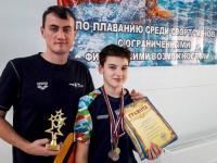 Павлодарский параолимпиец-пловец завоевал полный комплект медалей