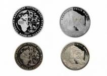 Памятные монеты «Манул» из серии монет «Красная книга Казахстана»