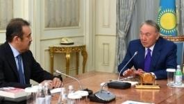 Масимов доложил Назарбаеву об обстановке в стране
