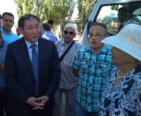 В Павлодаре ко Дню Астаны ремонтируют не видевшие асфальта улицы
