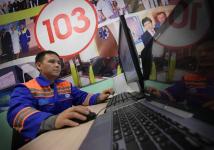 Время прибытия скорой помощи к пациенту в Павлодаре сократилось с 15 до 8 минут