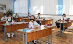 67 дежурных классов открыли в одной из крупнейших павлодарских школ
