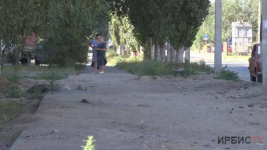 «Верните, как было!»: тротуара и деревьев лишились жители одной из многоэтажек в Павлодаре