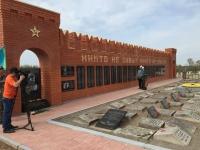 Мемориал воинской славы возвели казахстанцы в Псковской области