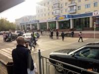 В Павлодаре на пешеходном переходе сбили человека