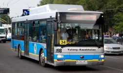 В общественном транспорте Алматы появится электронное билетирование