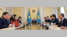 Назарбаев провел заседание Совбеза