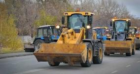 100 единиц техники будут убирать Павлодар зимой