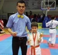 Павлодарский третьеклассник получил путевку на чемпионат РК по киокушинкай карате