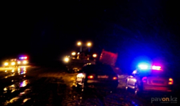 ДТП с участием трех автомашин произошло в Аксу