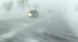 Штормовое предупреждение объявлено в пяти областях Казахстана из-за метели