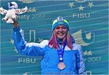 Вторая бронзовая медаль в копилке Казахстанской сборной от Анны Шевченко