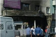 В городе Аксу сгорели два торговых павильона