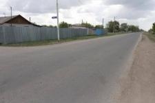 В селе Долгое заасфальтировали дорогу, которая не ремонтировалась больше 30 лет