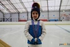 Юные фигуристки из Павлодара стали золотыми и серебряными призерами
