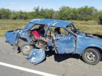 Один человек погиб и трое, включая маленькую девочку, получили ранения в результате ДТП в Прииртышье