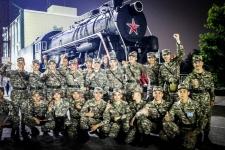 В Павлодаре будущих офицеров запаса отправили на полигон «Шығыс» регионального командования «Восток»