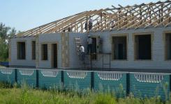 В Качирском районе строят детский сад за 50 миллионов