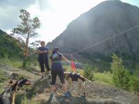 Павлодарские спасатели с собакой пришли на помощь юноше в Баянауле