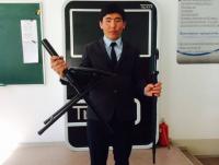 Экибастузский студент хочет запатентовать свое изобретение для пожилых людей