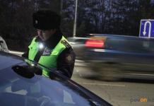 Павлодарские полицейские задержали водителя в состоянии наркотического опьянения, который предъявил им служебное удостоверение финполиции